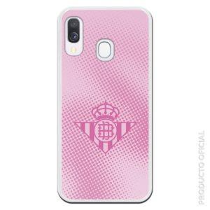 Comprar funda del betis rosa futbol femenino fondo rosa con cuadrado color rosado