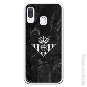 Carcasa silicona móvil plateado con fondo negro regalo día de Andalucía