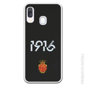 Funda móvil mallorca 1916 escudo mallorca fondo negro