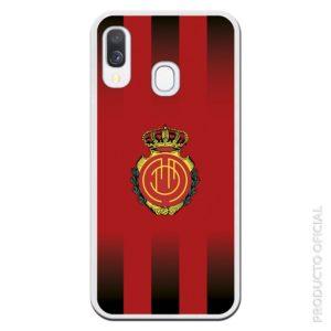 Comprar fundas del mallorca escudo líneas roja y negra colores del mallorca futbol