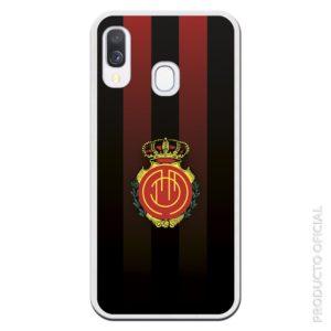 Comprar funda móvil r.c.d. mallorca club de futbol fondo negro y rojo colores del mallorca