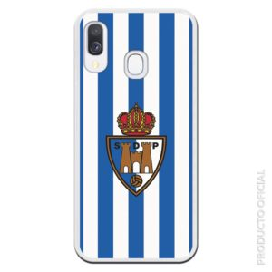 Comprar funda ponferradina escudo fondo colores del club oficial regalo original merchadising del club