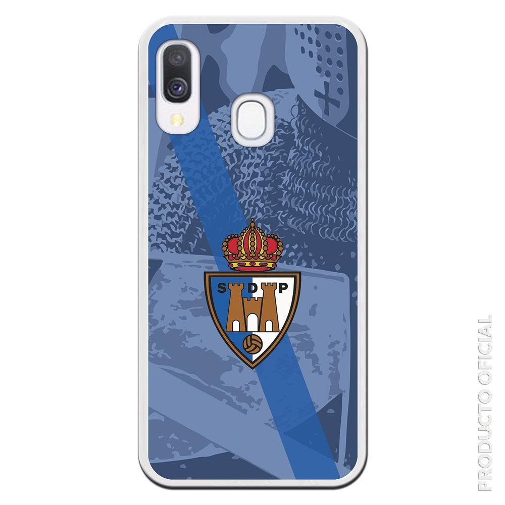 Comprar funda ponferradina oficial club escudo y fondo malla caballero ponferrada simbolo regalo día del padre ponferrada aficionados merchadising