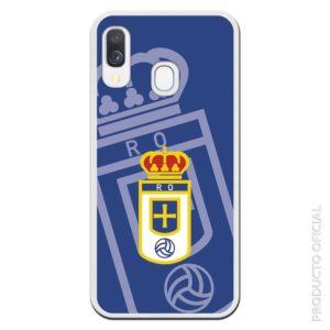 Comprar funda para iphone real oviedo escudo fondo azul y escudo colores azul para afición oviedista regalo día del padre