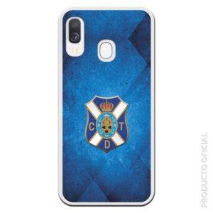 Comprar funda del tenerife escudo en medio y fondo azul oscuro degradado regalo original para los aficionados tenerife
