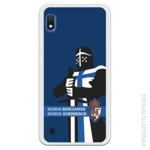 Carcasa móvil Somos Bercianos, somos guerrero Ponferrada con fondo azul