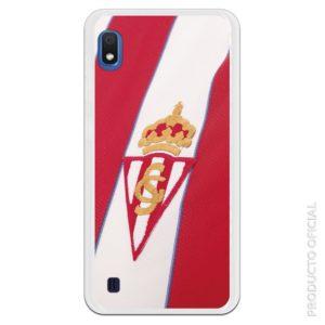 Funda móvil Sporting gijón escudo bordado camiseta