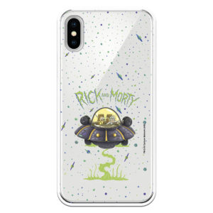 Funda Rick y Morty Ufo