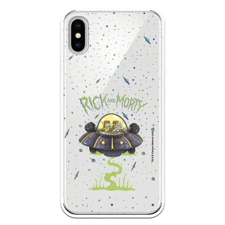 Funda Rick y Morty Ufo