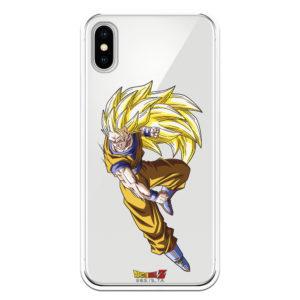 Carcasa móvil Goku kakarot transformado en super sayian
