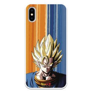 Carcasa móvil Vegeta y Goku fusionados Bola del Dragón Z oficial