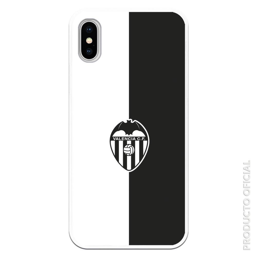 Comprar funda valencia blanco y negro escudo valencia bi color blanco y negro