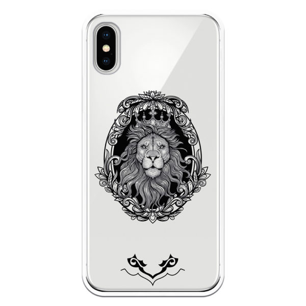 funda león mandala