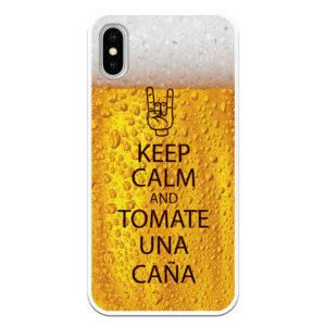 funda keep calm and tomate una caña