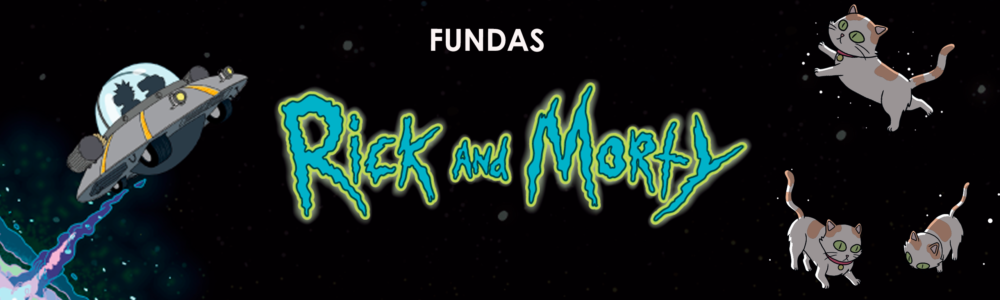 Rick and morty fundas moviles