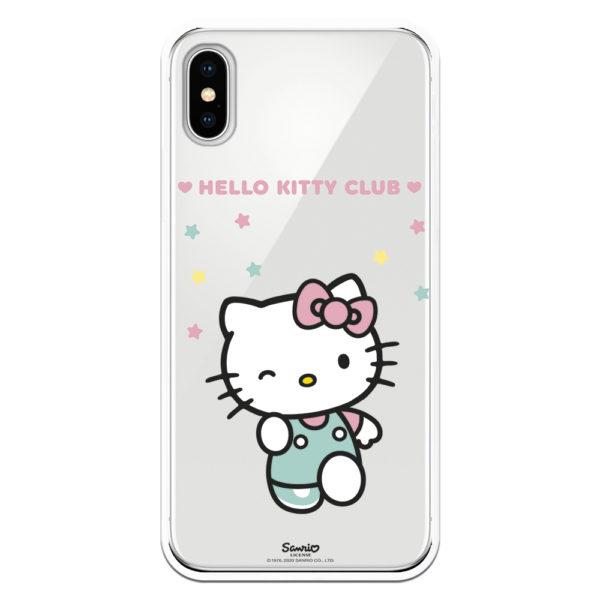 Funda móvil Hello Kitty Club móvil samsung