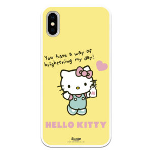 Carcasa bonita de Hello Kitty Oficial You have a way of brightening my day