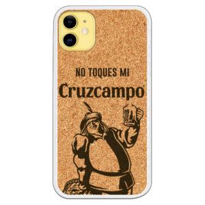 Funda Cruz Campo No toques mi CruzCampo