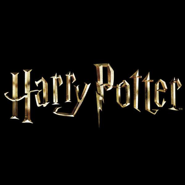 Harry potter logo fondo negro