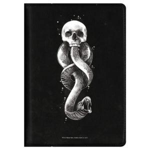 Funda Tablet 7 universal marca oscura de Harry potter de polipiel negra