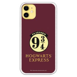 Carcasa móvil Hogwarts Express plataforma 9 3/4 tres cuarto Harry Potter Official