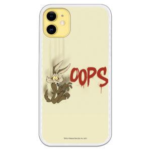 Carcasa móvil Coyote Oops cayendo Warner Bross