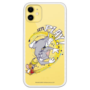 Carcasa let´s play Tom y Jerry silicona gel flexible