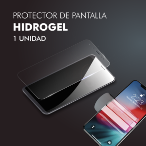 Protector pantalla móvil Hidrogel Pack 1ud Barata