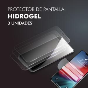 Protector pantalla móvil Hidrogel Pack 3uds Barata