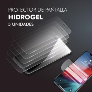 Protector pantalla móvil Hidrogel Pack 5uds Barata