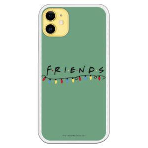 Funda móvil Friends fondo verde suave