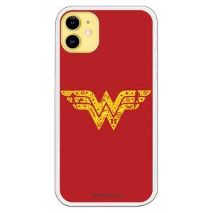Funda Silicona flexible WonderWoman DC Comics Oficial Gel