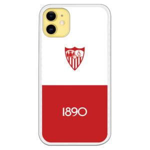 Carcasa móvil del Sevilla Fondo Blanco desde 1890