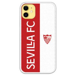 Funda Sevilla Letras blancas y escudo Sevilla