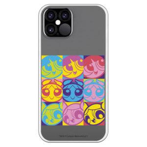 Funda para Samsung Supernenas distintos colores estilo warhol supernenas cuadro fondo transparente